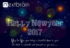 Nextbrain Technologies wishing you a happy new year 2017 to you and your family.