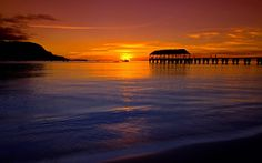 Full size sunset