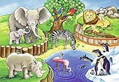 Puzzles p - les animaux du zoo Animal Activities For Kids, Animal Crafts For Kids, Animals For Kids, Animals And Pets, Zoo 2, Kids Zoo, Cartoon Drawing Tutorial, Cartoon Girl Drawing, Tier Wallpaper