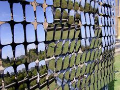 Prodigious Useful Tips: Lattice Fence Style outdoor fence how to make.Fence Lighting Nature old fence art.How To Build A Fence Diy. Fence Landscaping, Backyard Fences, Garden Fencing, Bamboo Fencing, Architecture Design, Interactive Walls, Interactive Media, Country Fences, Living Fence