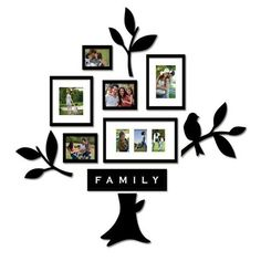 Family Tree Picture Frame Collage