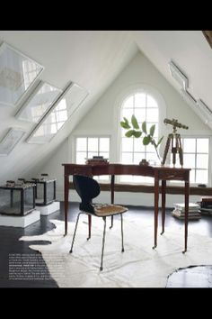 Attic Conversions. Frames on ceiling