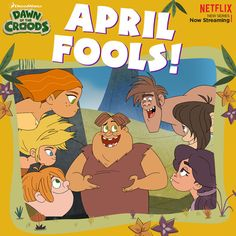 What is Thunk up to?  Do you remember the first April Fools joke you did? #Croods