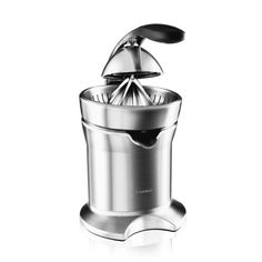 This Breville Die-Cast Stainless Steel Motorized Citrus Press Juicer is a wonderfully functional and excellently designed. It has a die-cast stainless steel juicing cone that will fit all size citrus Best Juicer, Citrus Juicer, Specialty Appliances, Small Appliances, Kitchen Tools, Kitchen Gadgets, Kitchen Dining, Kitchen Ware, Kitchen Products