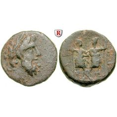 Koile Syria, Chalkis ad Libanon, Ptolemaios, Tetrarch, Bronze, f.ss: Ptolemaios, Tetrarch um 85-40 v.Chr. Bronze 19 mm. Kopf des… #coins