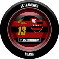 DNZ Football Buttons: EC Flamengo