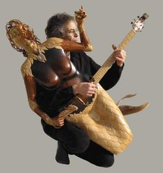 Mermaid Guitar.