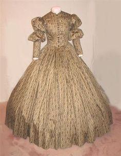 Scarlett O'Hara calico costume