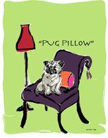 Pug Pillow (so cute Carla!)