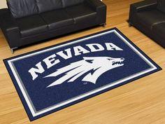5' x 8' Area Rug - University of Nevada, Reno Wolf Pack