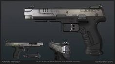 Image result for futuristic pistol