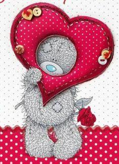 Teddy Bear Images, Teddy Bear Pictures, Valentines Day Bears, Winnie The Poo, Blue Nose Friends, Cute Love Cartoons, Love Bear, Tatty Teddy, Cute Teddy Bears