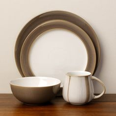 Denby Truffle Layers 16-piece Dinnerware Set & Denby Mist Falls would love a set of this   Want this!   Pinterest ...