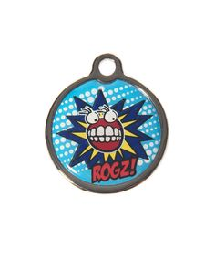 Shop Dogs :: Garments, Collars & Leads :: ID Tags :: Rogz Metal ID-Tagz with Engraving Funky Design, Collar Designs, Pet Tags, Id Tag, Your Dog, Fancy, Led, Dog Collars, Comics