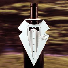 Wine Bottle Groom's Tux