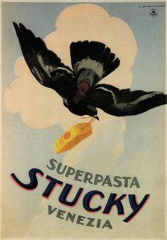Marcello Dudovich. Superpasta Stuchy. 1910   Flickr - Photo Sharing!