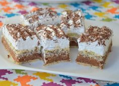 Romanian Desserts, Romanian Food, Romanian Recipes, The Daniel Plan, Cake Recipes, Dessert Recipes, Eat Dessert First, Caramel, Sweet Treats