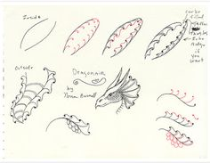 DRAGONAIR TANGLE by Fairy Tangles