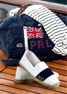 Prendre la mer, tout de Ralph Lauren vêtu. JR Nautical Style, Nautical  Fashion 01e63b44826