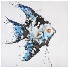 Uttermost Blue Angel Ocean Art - 32243