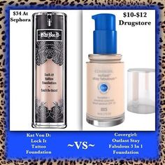NEED GOOD MAKEUP FOR A GOOD PRICE HERES SOME GREAT FOUNDATION! HOPE IT SAVES U MONEY