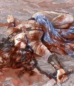 Fingon, Nirnaeth Arnoediad. Artist: Goldseven. http://gold-seven.deviantart.com/