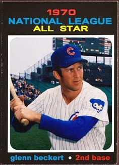 1971 Topps Glenn Beckert All-Star, Chicago Cubs, Baseball Cards That Never Were