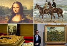 Magnificent 5 Amazing Stories of Lost and Found Art Works Unusual News, Bizarre News, Found Art, Weird Pictures, Lost & Found, Weird Facts, It Works, Mona Lisa, Projects To Try