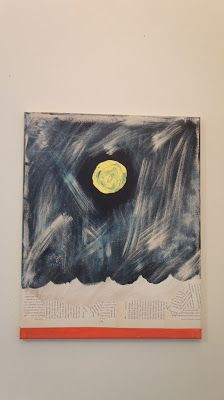 Inspire India: Gallery- Moon Over a Sea of Words