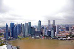 Biz :): Singapur tatili - Marina Bay Sands Marina Bay Sands, New York Skyline, Travel, Viajes, Destinations, Traveling, Trips
