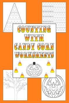 Free printable counting with candy corn worksheet blog image