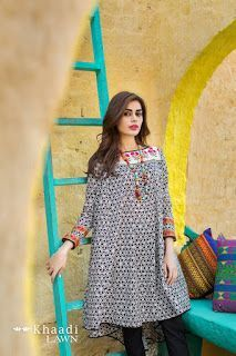 91ad526df Khaadi Latest Summer Lawn Dresses Designs Collection 2019