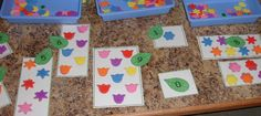 Garden themed preschool activities to teach math, letters, colors, and plant science