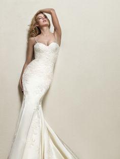 Vestido de novia tirantes finos