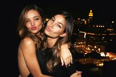 Miranda Kerr and Lily Aldridge