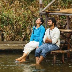 Image may contain: one or more people, people sitting, shoes, outdoor and water Love Couple Photo, Love Couple Images, Couples Images, Cute Girl Photo, Cute Baby Girl Images, Cute Girl Face, Stylish Girl Images, Indian Wedding Couple Photography, Wedding Couple Poses Photography