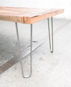 Industrial By Design Raw Steel Hairpin Legs, $49.95, available at Amazon.