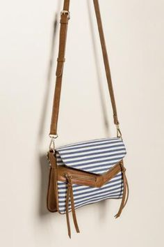 ccb4f1897 Kayla Striped Crossbody Clothing Items, Crossbody Bag, Fashion Accessories,  Francesca's Collections, Purses
