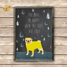 Hey, I found this really awesome Etsy listing at https://www.etsy.com/listing/152013988/cute-pug-collage-on-chalkboard