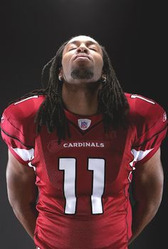 The greatest Cardinal of all, Larry Fitzgerald.