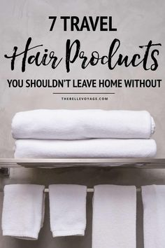 Do you struggle figuring out which travel hair products to bring when you go on a trip? We've got you covered. We have a thing for travel beauty products so we made a list of 7 hair products you need to pack for travel. Come check it out and Travel Size Hairspray, Travel Size Shampoo, Packing List For Travel, Packing Tips, Vacation Packing, Travel Gadgets, Travel Hacks, Fun Travel, Travel Plan