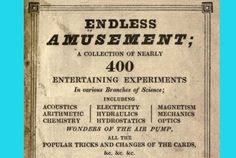 10 Dangerous Ways to Amuse Yourself from an 1820 Book | Mental Floss