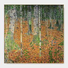 クリムト:The Birch Wood フレーム付