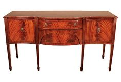 American Hepplewhite-Style Sideboard on OneKingsLane.com- style of sideboard for vanity