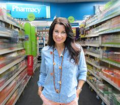 Ashley of www.prescription4change.com rocking our popular 7 Tassel necklace