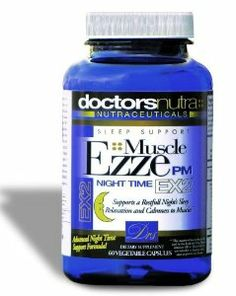 Muscle Ezze PM Natural Nighttime Sleep Aid Capsules by Your Doctors Nutra. $24.95. Supports Natural Deep Sleep Relaxation. Herbal supplementation does not have the addictive effects of many prescriptions. Without morning grogginess!. With Passion Flower, Lemon Balm Leaf, Hops Cone Extracts and Melatonin. If you struggle with sleepless nights, whether from chronic stress, anxiety, tension, sore muscles, or insomnia.. Designed to promote a calming, anti-anxiety effect at bed...