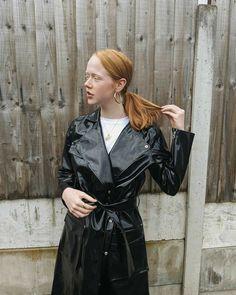 in Lund Opal Raincoat Vinyl Raincoat, Pvc Raincoat, Plastic Mac, Macs, Raincoats For Women, Lund, Rain Wear, Greatest Hits, Opal