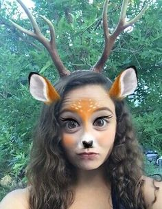Kids Deer Costume Child Cosplay Outfit with Horns for Halloween