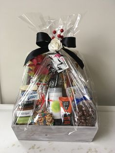 Wine Gift Baskets, Wines, Cocoa, Gift Wrapping, Wine Baskets, Gift Wrapping Paper, Wrapping Gifts, Theobroma Cacao, Hot Chocolate