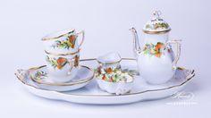 Christmas NOEL Coffee Set - Herend porcelain
